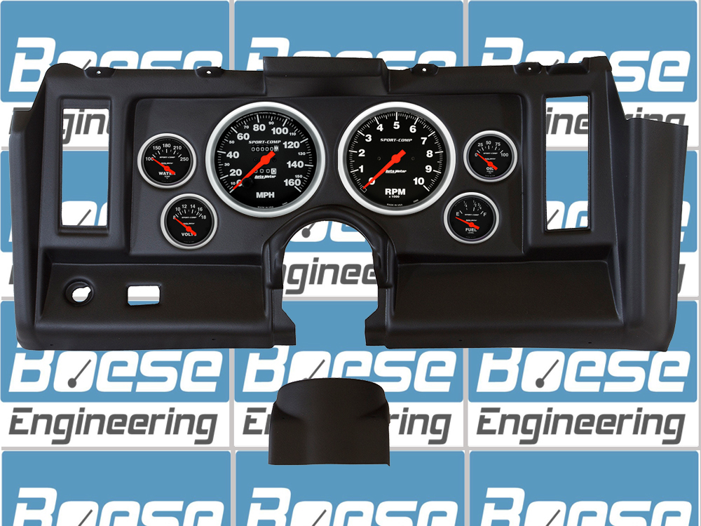 Auto Meter Direct Fit 1969 Chevrolet Camaro Instrument Panel With Sport Comp Gauges Primary Photo
