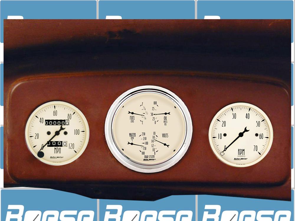 1935 1936 1937 1938 Chevy Truck billet aluminum gauge ...