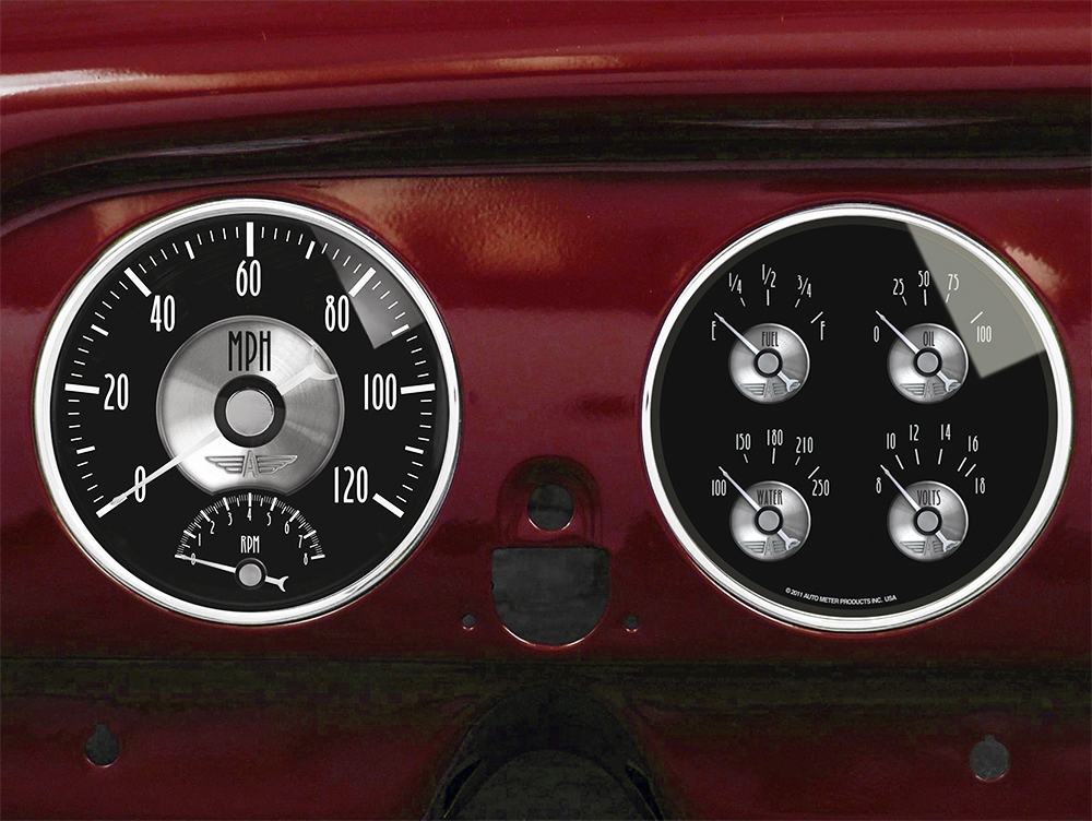 1951 1952 Chevy Car Dash Inserts Gauge Panels Gauges And Direct