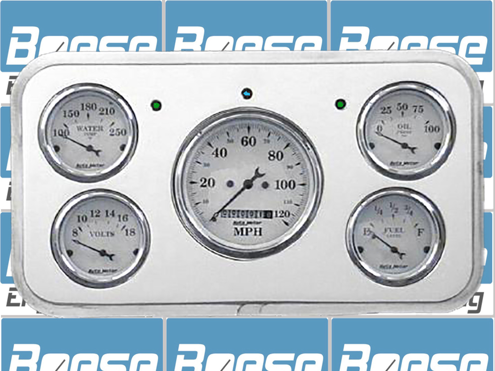 37 Buick Billet Aluminum Dash Insert w/ Auto Meter gauges ( fits 80 Roadmaster & 90 Limited ) Primary Photo