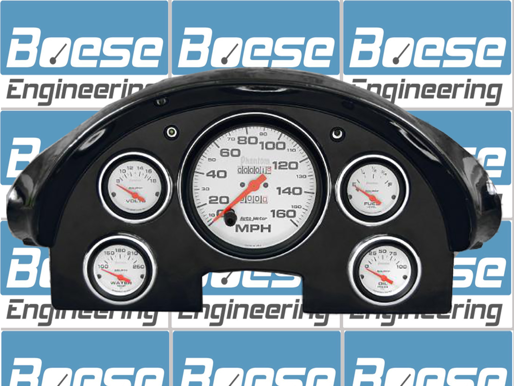 Auto Gauge For Sale Philippines: 1956 Ford Fairlane Billet Aluminum Adapter Panels W/ Auto