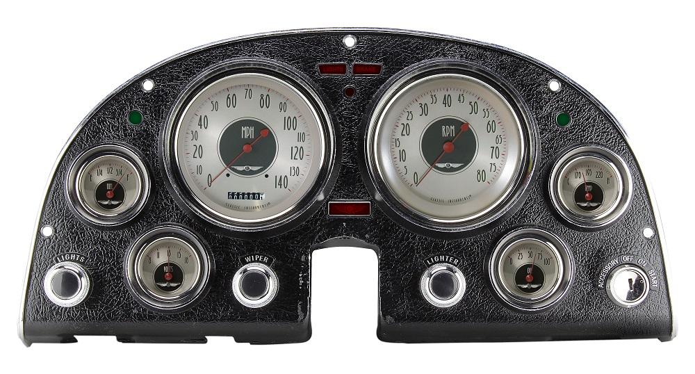 All American Nickel 1963 67 Corvette Gauge Cluster 5