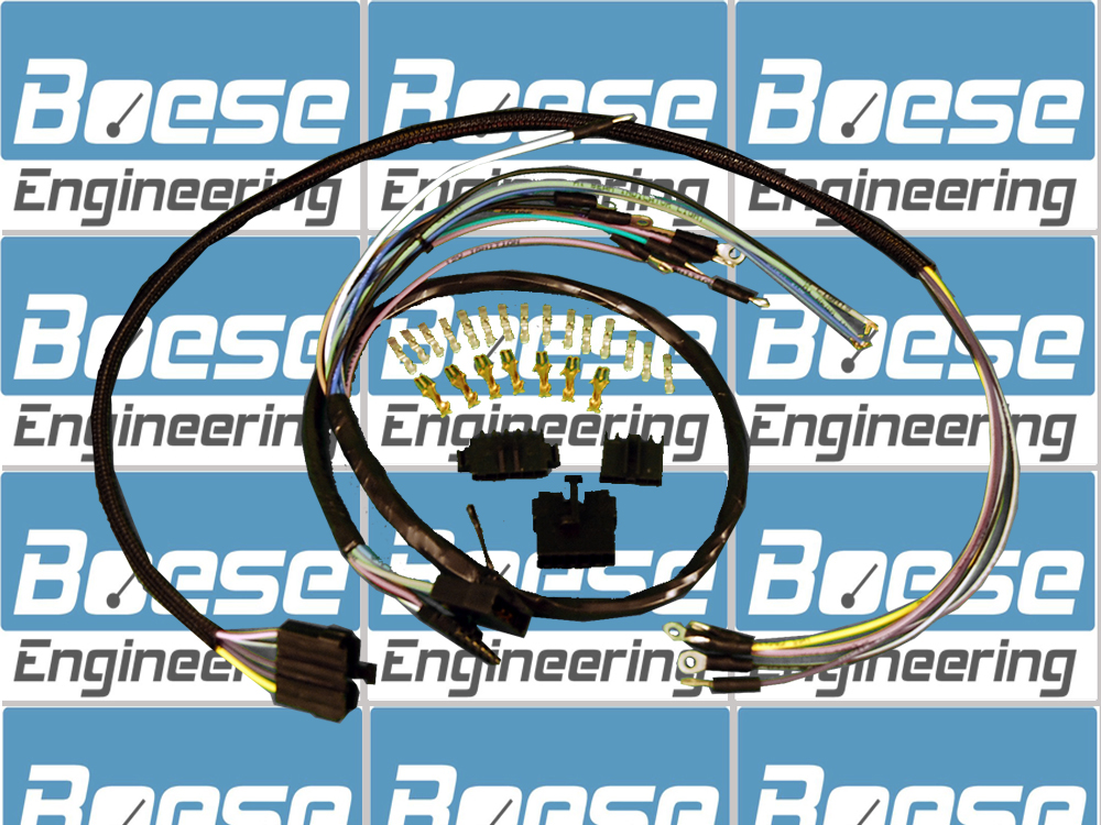 Classic Instruments Wiring Harness for Speedo/Tach/Quad 3 3/8 Gauges ...