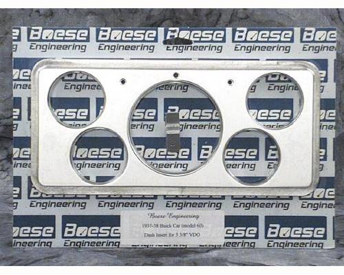 Buick gauge panels 37 38 buick car billet aluminum dash insert for vdo gauges 3 3 sciox Images
