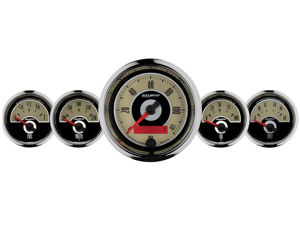 Cruiser Ad 5 Pc  Gauge Kit  3 8 U0026quot   U0026 2 16 U0026quot   Electric