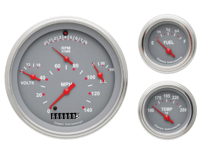 Classic Instruments 57 Chevy Car Package Gauge Panel