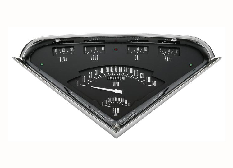 Classic Instruments Tach-Force 55 56 57 58 59 Chevy Truck Package (Black) Primary Photo