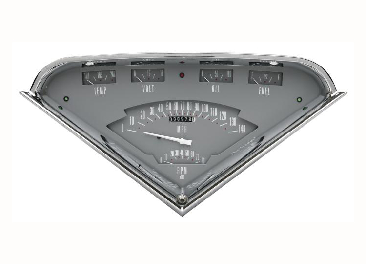 Labeled Instrument Panel For Trucks : Classic instruments tach force chevy truck